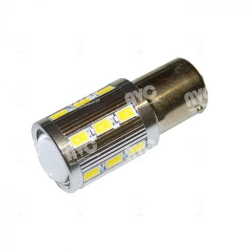 LED 10-30V 21W helyére BA15s 9 LED Piros