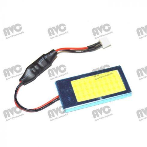 LED panel 12-24V COB leddel 40x20mm Fehér