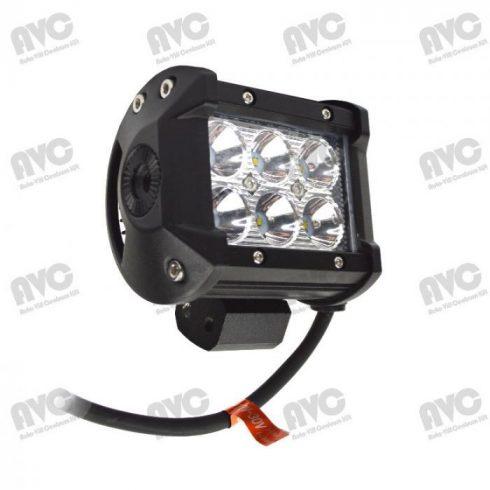 LED Távolsági fényszóró 9-32V 18W