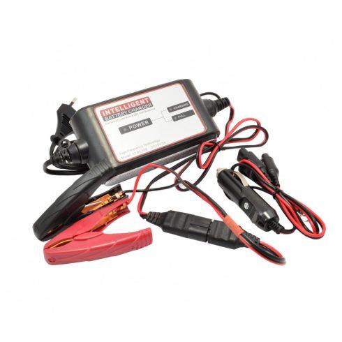Intelligens akkumulátortöltő 12V 2A - Caster. 01.80.028