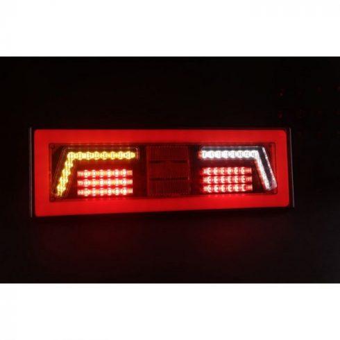LED Hátsólámpa 12-24V 375x130 mm Bal