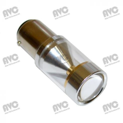 LED 10-30V 21W helyére BA15s 6 LED Piros
