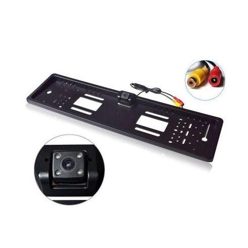 Tolatókamera rendszámtábla keretbe integrálva IP66 340p 12V
