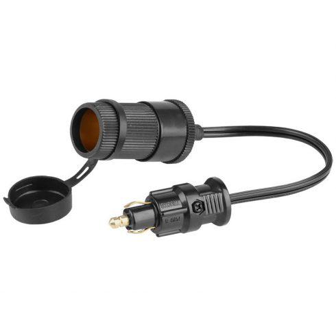 Adapter Steck lámpa dugó szivargyújtó aljzatra (DIN)