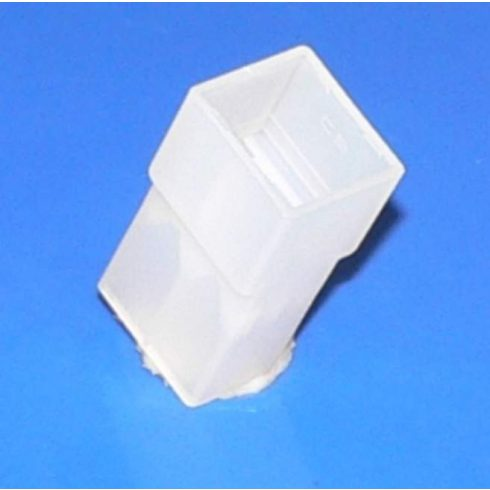 Műanyag csatlakozó ház 2 pólusú 6,3 mm csúszósarukhoz - anya