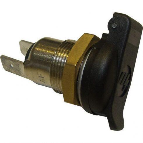 Szivargyújtó aljzat stecker / mini fedeles furatba szerelhető